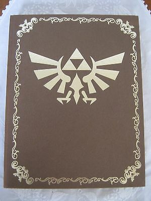The Legend of Zelda Twilight Princess Collectors Edition Rare Game Guide + Map