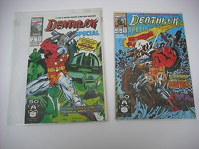 Marvel, Deathlok Special Collectors Limited Edition #1 - #4 Complete 4 Part 1991