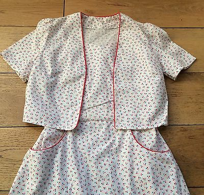 Vintage Summer Twin Set Size 10 Approx