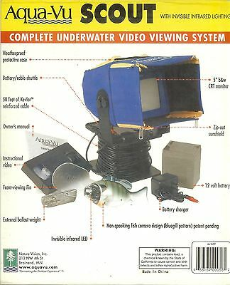 Aqua-Vu Scout Complete Underwater Video Viewing System