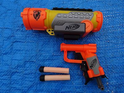 Nerf N- strike Tactical scope and Jolt with 2 Bullets