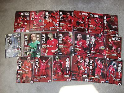 Collection Of 19 Liverpool Home Programmes 2005-2006