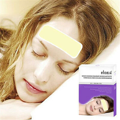 10pcs Forehead Stickers / Anti-wrinkle / Anti-aging / Face Mask Patch Pad