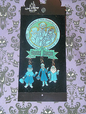 Haunted Mansion Wdac Hitchhiking Ghost Dangle Pin Disney Wdcc 1999 Le 800? Event
