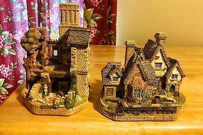 David Winter Cottages Haunted House Collection great deal on 2 from series!