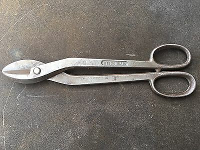 J WISS & SONS WISS INLAID SPECIAL No 5 METAL SHEARS FOR ALLOY &  STAINLESS STEEL