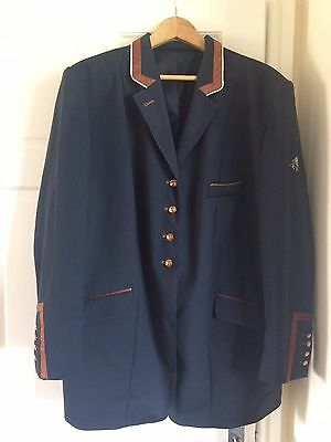 """Flying Changes Show Jacket Navy, 44"""""""