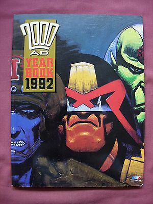 2000AD 1992 Year Book *First Ever* Judge Dredd Slaine Rogue Trooper etc. VFN