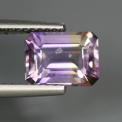 1.88 Cts_Very Rare Unique Hi-End Luster_100 % Natural Bi-Color Ametrine_Africa