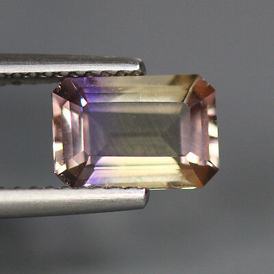 1.60 Cts_Very Rare Unique Hi-End Luster_100 % Natural Bi-Color Ametrine_Africa