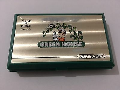 Green House Nintendo Game & Watch 1982