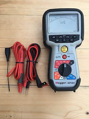 Megger Mit481 Telecom Insulation And Continuity Tester Railway Test Equipment