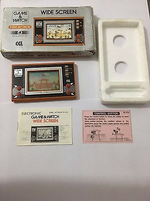 Fire Attack Nintendo Game & Watch 1982 (Excellent Condition)