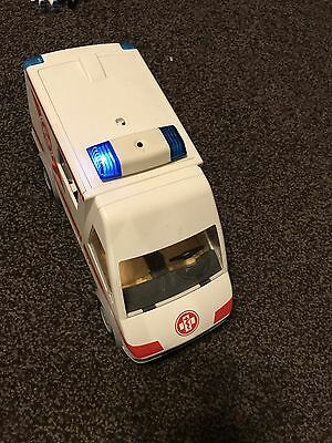 Playmobil Ambulance Rescue 2008, Includes  People & Some Accessories,