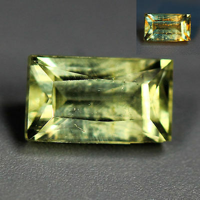1.20 Cts_World Class Rarest Gemstone_100 % Natural Color Change Diaspore_Turkey