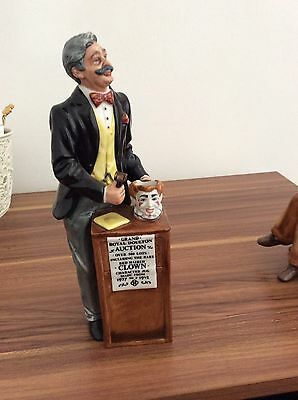 royal doulton figurine The Auctioneer