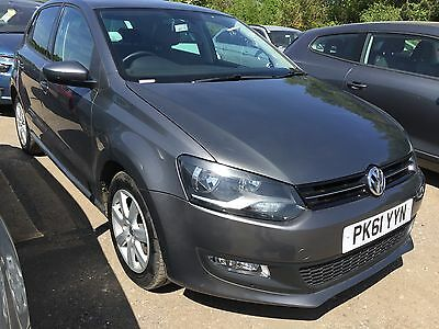 2011/61 Volkswagen Polo Match Auto **rare Auto With Very Low Miles Only 33K**