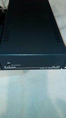 Extron PS 123 12 VDC 3A  Multiple Output Power Supply W/ Power Cord