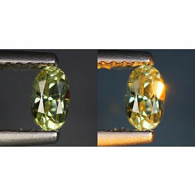 0.37 Cts_World Class Rarest Gemstone_100 % Natural Color Change Turkey Diaspore