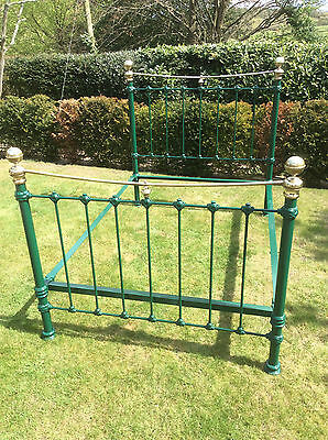 Iron and Brass Bed