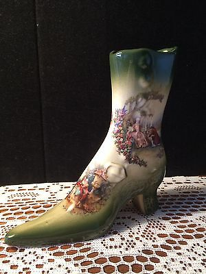 Empress Ironstone Courting Couples Boot