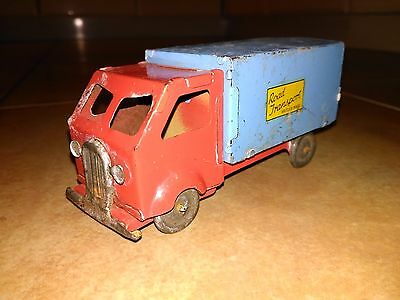 Rare Chad Valley  Tin Road Transport Lorry Van - Truck Made In England