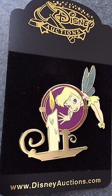 Disney Auctions P.I.N.S. Tinker Bell Magnified LE 250 Pin  NEW RARE
