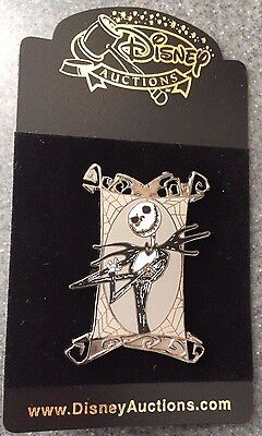 Disney Auctions P.I.N.S. NBC Nightmare Before Christmas Jack Frame LE Pin  NEW