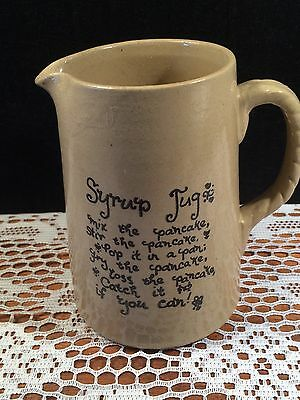 Pearson's Of Chesterfield Syrup Jug