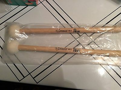 NEW Vic Firth MB2H Corpsmaster Bass Mallet Sticks Medium Hard Head Drum Corp DCI