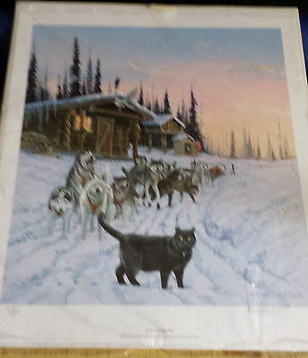 Jon Van Zyle Catastrophe S/N Ltd Ed 373/500  Dog Team Print