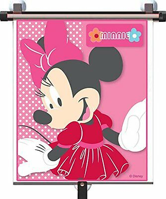 Disney Minnie Mouse Adjust and Lock Window Blind Solar Ray Filter Shade Sunblock