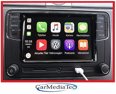 Original VW Radio Freisprechanlage Apple CarPlay Mirrorlink RCD330 Autoradio 6.5