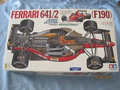 NEW TAMIYA 1/12 F1 Ferrari 641/2 F190 KIT Rare Vintage Collection #12027