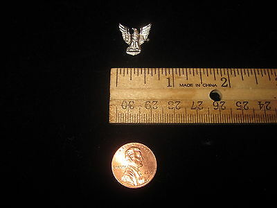 Vintage Sterling Silver Boy Scouts Of America Bsa Eagle Pin Bsa