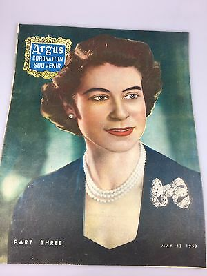 Vintage - Coronation Souvenir 1955 - The Argus Newspaper - Part Three