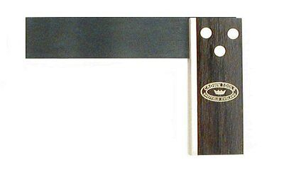 Crown 126 9-Inch Try Square, Rosewood