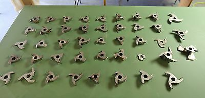 """Carbide Shaper Cutters Huge Lot of  """"43"""" 1 inch bore from Pro Cabinet Shop"""