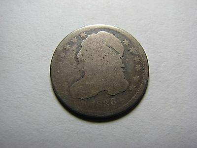 1836 Capped Bust Dime