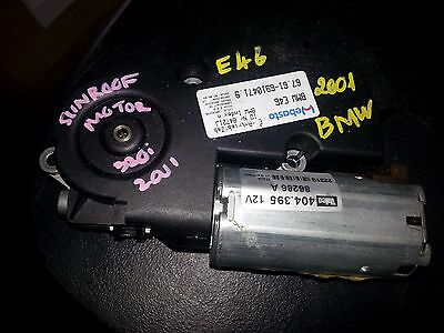 Bmw E46 318 320 325 01-05 Sunroof Motor   Webasto 86286A Genuine