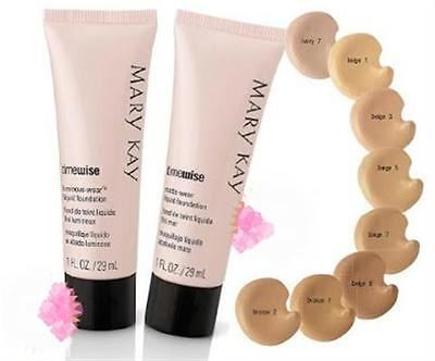 Base de maquillaje fluida Mate o Luminosa TimeWise Mary Kay