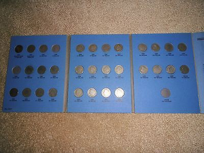 Liberty Head Nickel Collection 30 of 33 Coins in Folder