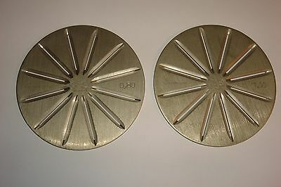 Vintage R.Rubin and Son  RS Diamond Sieve Plates for Flat Stones 0.80 & 1.00