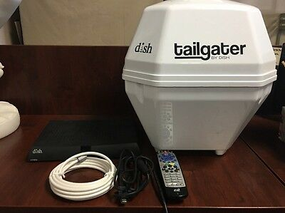 Tailgater Portable Satellite Dish With VIP211z Receiver And Remote