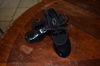 ABT Spotlights tap shoes toddler girl sz 10 (no ribbons)