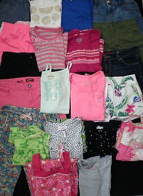 Huge Girls Clothes Lot...size 10 and 12...Super NICE...Summer!!