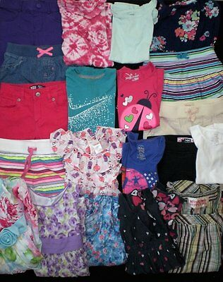 Huge Girls Clothes Lot...size 6 and 6x...Super Nice...Summer!