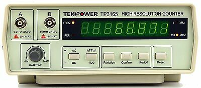 TekPower TP3165, Intelligent Frequency Counter 0.1Hz to 2.4Ghz, with high OEM