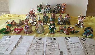 Vintage Wizard of Oz Collection - Heirloom Ornaments by Ashton Drake Lot of 21