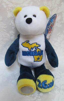 Limited Treasures State Quarters Coin Teddy Bear Michigan #26